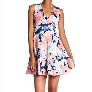 Love...Ady Scalloped V-Neck Dress